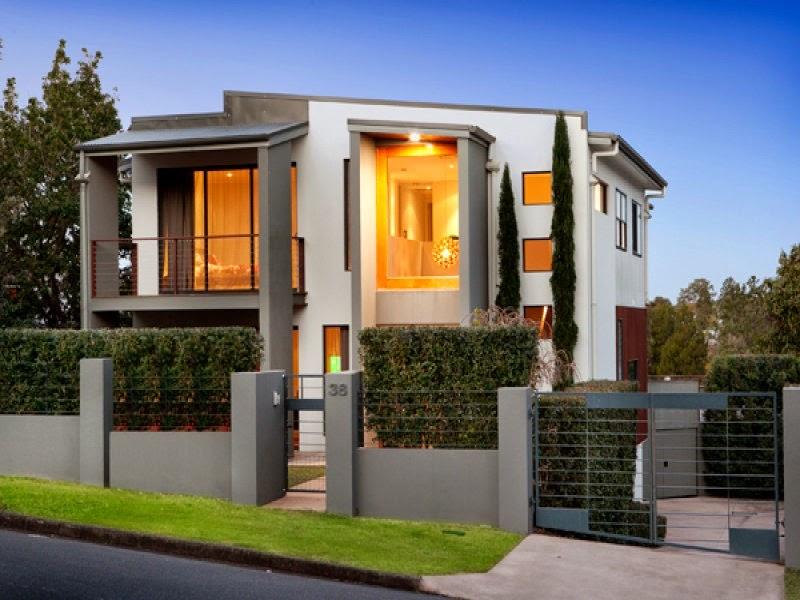 Fachadas de casas modernas fachadas de casas modernas con for Casas pequenas con fachadas bonitas