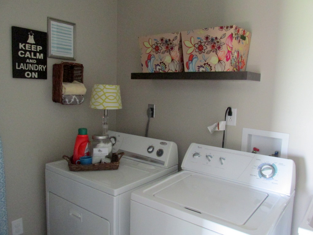 Laundry Room And Cleaning Storage Progress