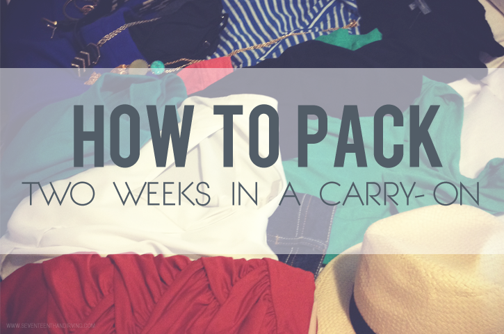 How do you pack for a trip?