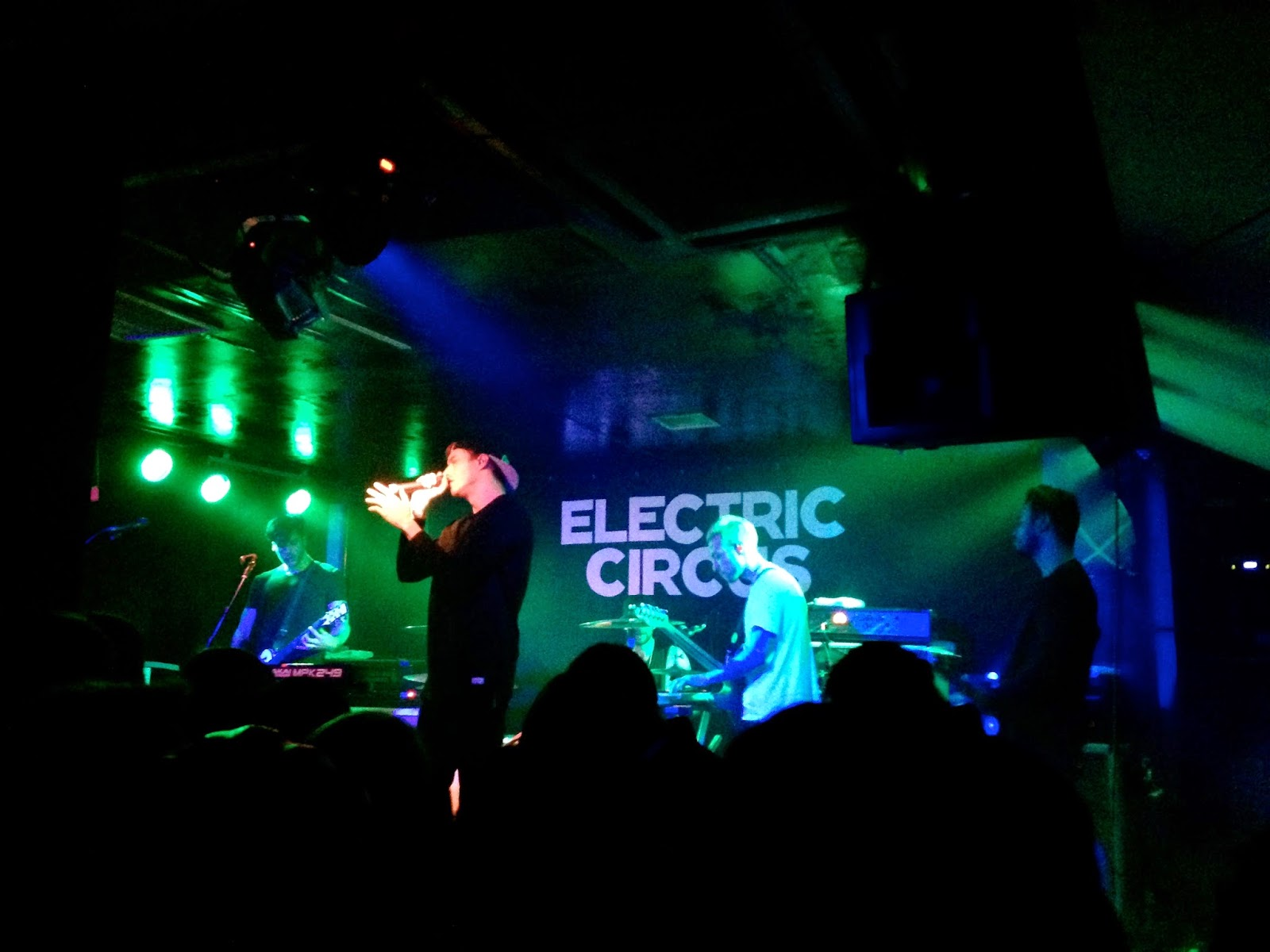 Young Guns concert tour at Electric Circus, Edinburgh