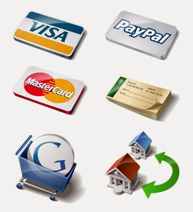 Free Payment Method Icon Set