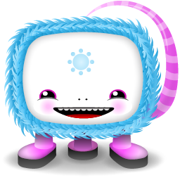 funny moster icon for desktop
