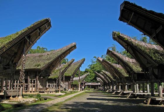 Download this Pernik Nusantara Rumah Tongkonan picture