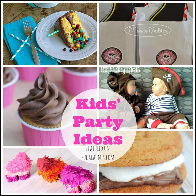 Kids' party ideas: theme, decorations, favors, cake, favors