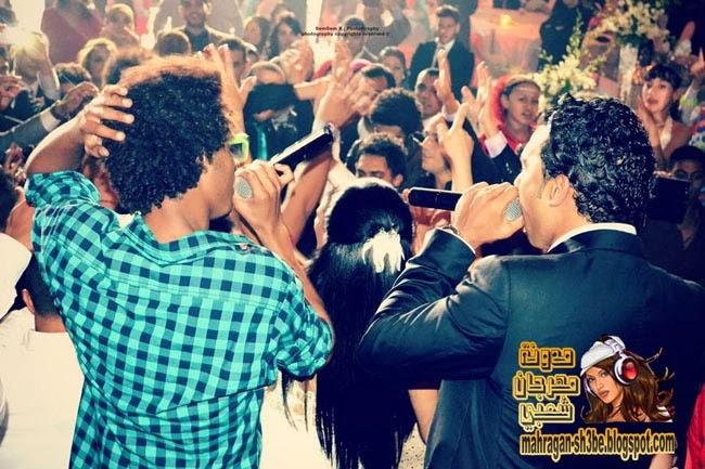 صور اوكا واورتيجا وشحتة كاريكا في فرح شقيق تامر حسني - مدونة مهرجان شعبي