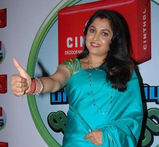 WWW.BOLLYM.BLOGSPOT.COM Ramya Krishnan in Saree at Cinthol Skin Protection Challenge Event in Chennail 0006.jpg