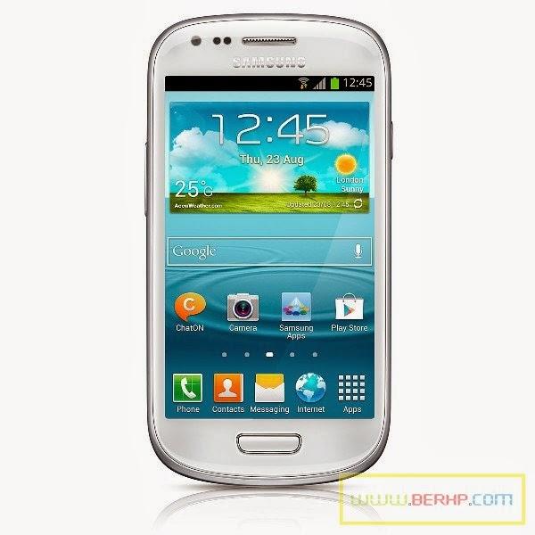 Galeri Gambar dan Pilihan Warna SAMSUNG Galaxy S3 Mini GT-i8190