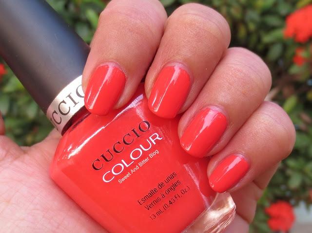 Cuccio Colour Nail Polish Shaking My Morocco Swatch