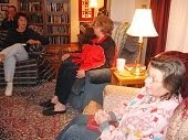 MAMA Church Bible Study at the Vicarage