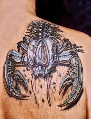 As locas impressionantes tatuagens em 3D