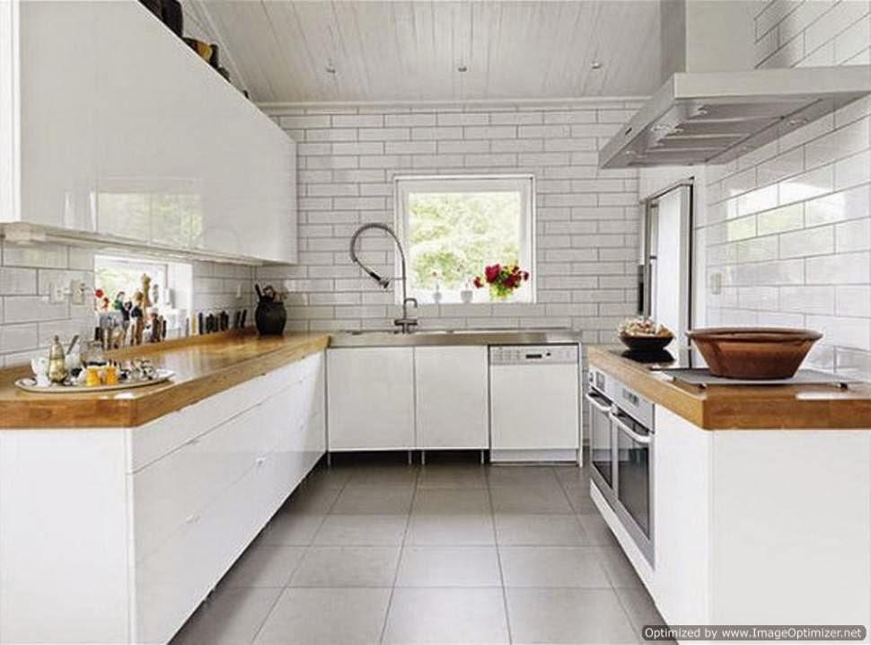 model dapur rumah minimalis sederhana