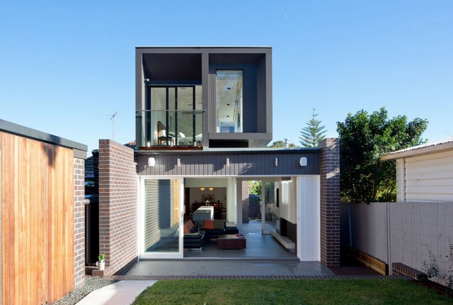 Modern Two Story House Small Is Beautiful In The Way You