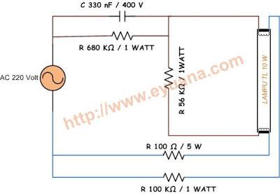 Lampu TL tanpa Trafo Ballast