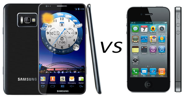 Galaxy s3 main competitor of iPhone 4S