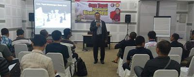 Ramainya peserta seminar strategi dan rahasia bisnis menuju perusahaan ideal