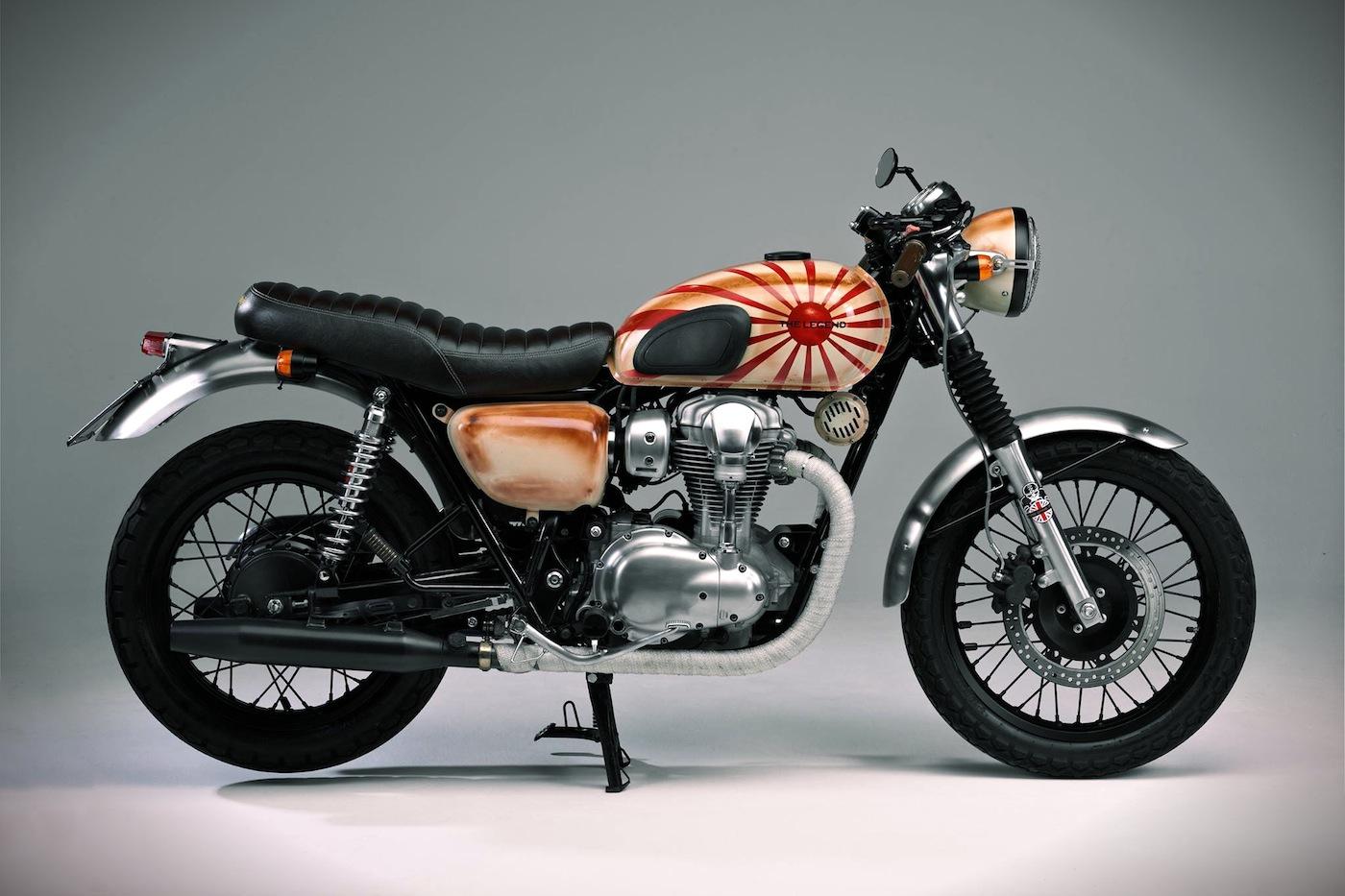 Kawasaki W800 By Brittway Garage