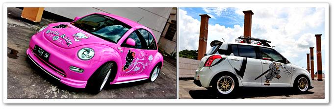 Foto Motif Cutting Sticker Mobil Terbaru 2015 001