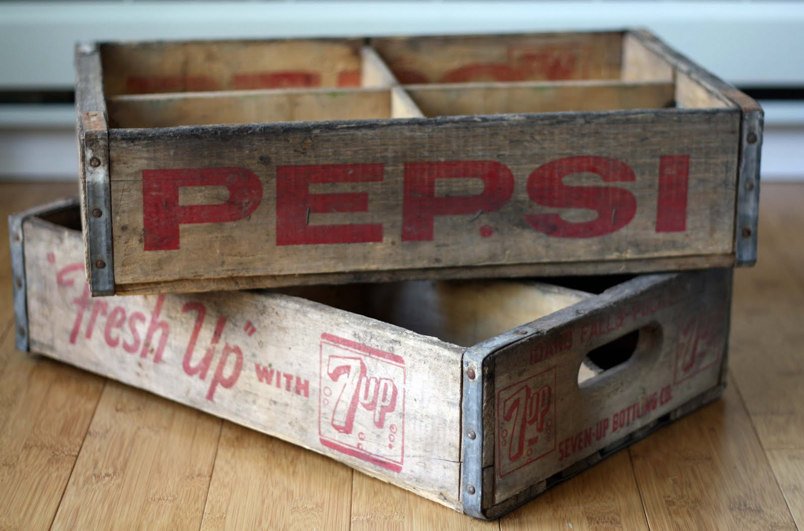 Running With Scissors: Vintage Soda Crates