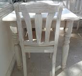 Mesas y sillas de cocina comedor