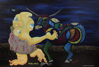 Exposición sobre la búsqueda de los enigmas del cuerpo en la Casa de Arte Málaga de Ángel Nova