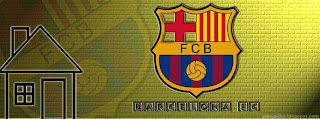 Barcelona FC Facebook Cover Yellow Brick