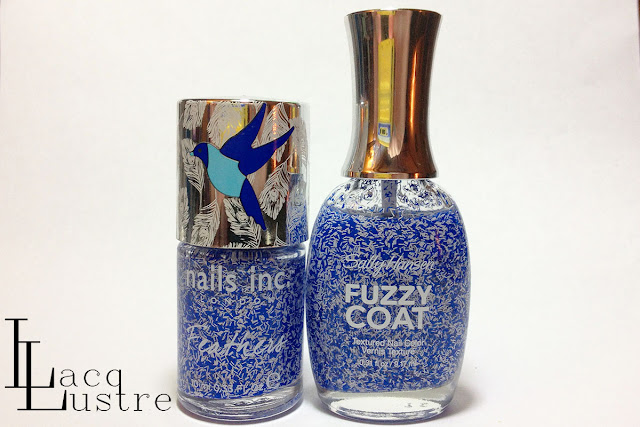 Sally Hansen Tight Knit vs Nails Inc. Cornwall bottle shot