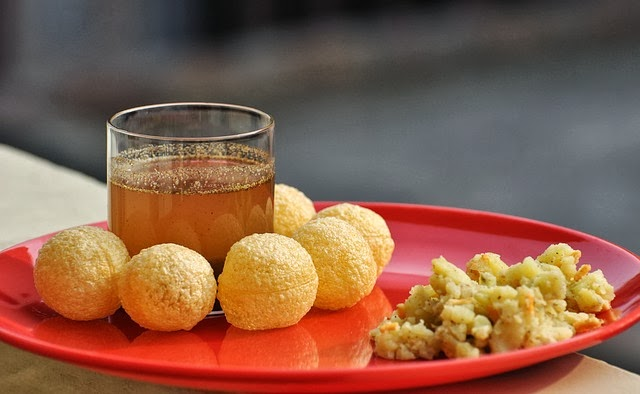 Pani puri, Indian Street Food