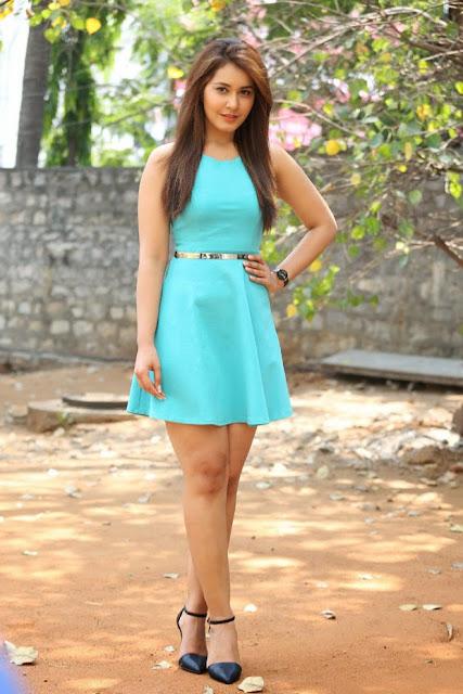 Rashi Khanna Photos At Jil Movie Trailer Launch 5