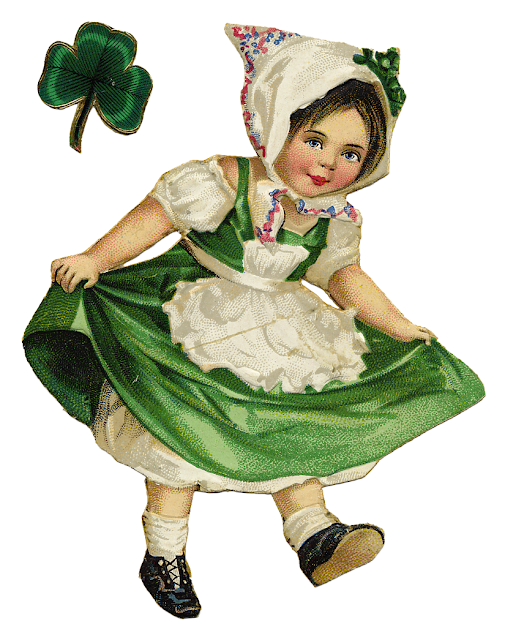 The Cottage Market, Ephemera, Vintage, Irish girl