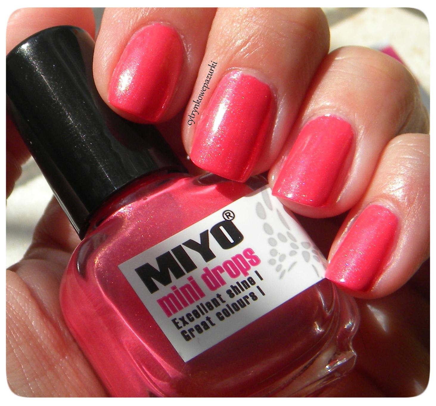 Poniedziałki z Miyo Mini Drops 167 Diamond&Rouge