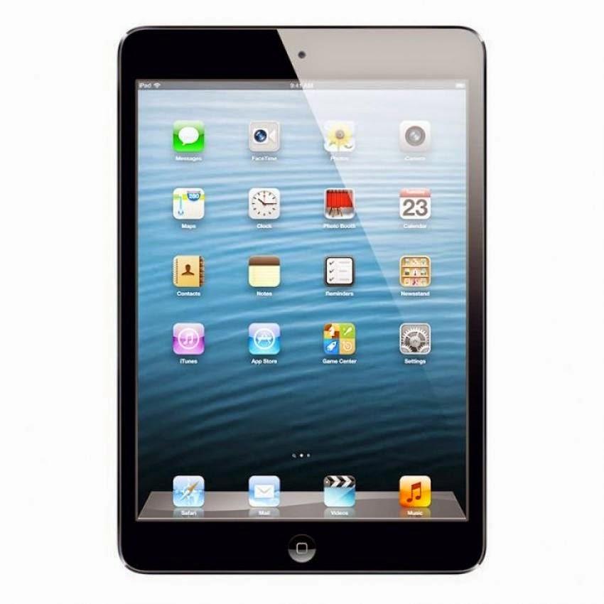 "Harga Dan Spesifikasi Apple Ipad Mini 64GB-Wifi + Cell Black Terbaru, Ukuran Layar 7.9"" Inch"