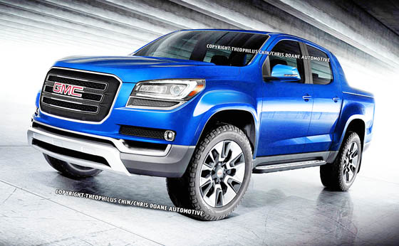 2015 GMC Canyon: a proposal for Theophilus Chin / Chris Doane