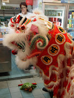 Dragon ceremony Chinatown, Singapore
