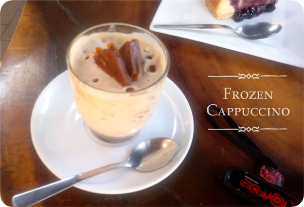 chellelandia: Mamia's Frozen Cappuccinos: Bliss in a cup