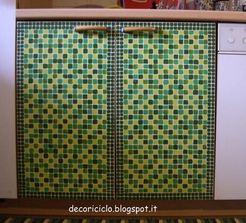 Decoriciclo come ho rinnovato le antine della mia cucina - Dipingere ante cucina ...