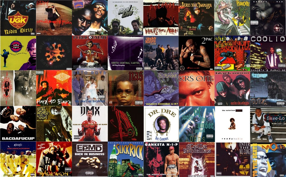 80&#39;s &amp; 90&#39;s Hip-Hop
