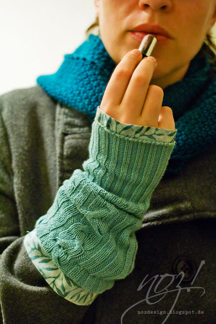 Upcycling - Sweaters - arm warmers