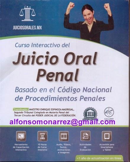 CURSO INTERACTIVO JUICIOS ORALES