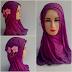 Jilbab instan fatin bunga | langsung pakai