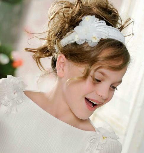 Peinados de niñas para comuniones ceremonias y  - Ver Peinados De Comunion