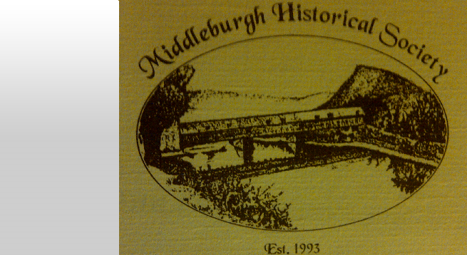 The Middleburgh Historical Society