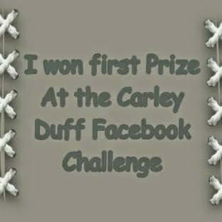 Carley Duff challenge group first prize