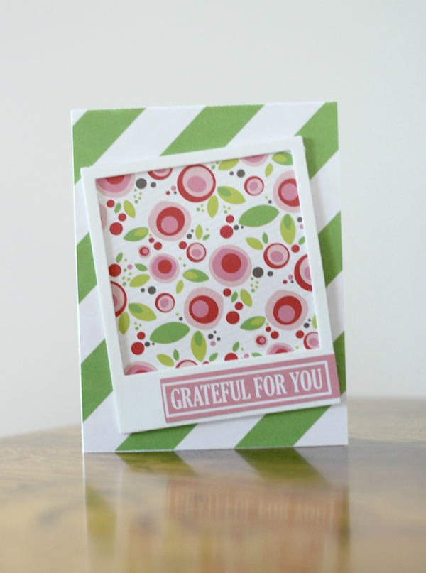 Amy Tsuruta Chickaniddy Crafts spring card