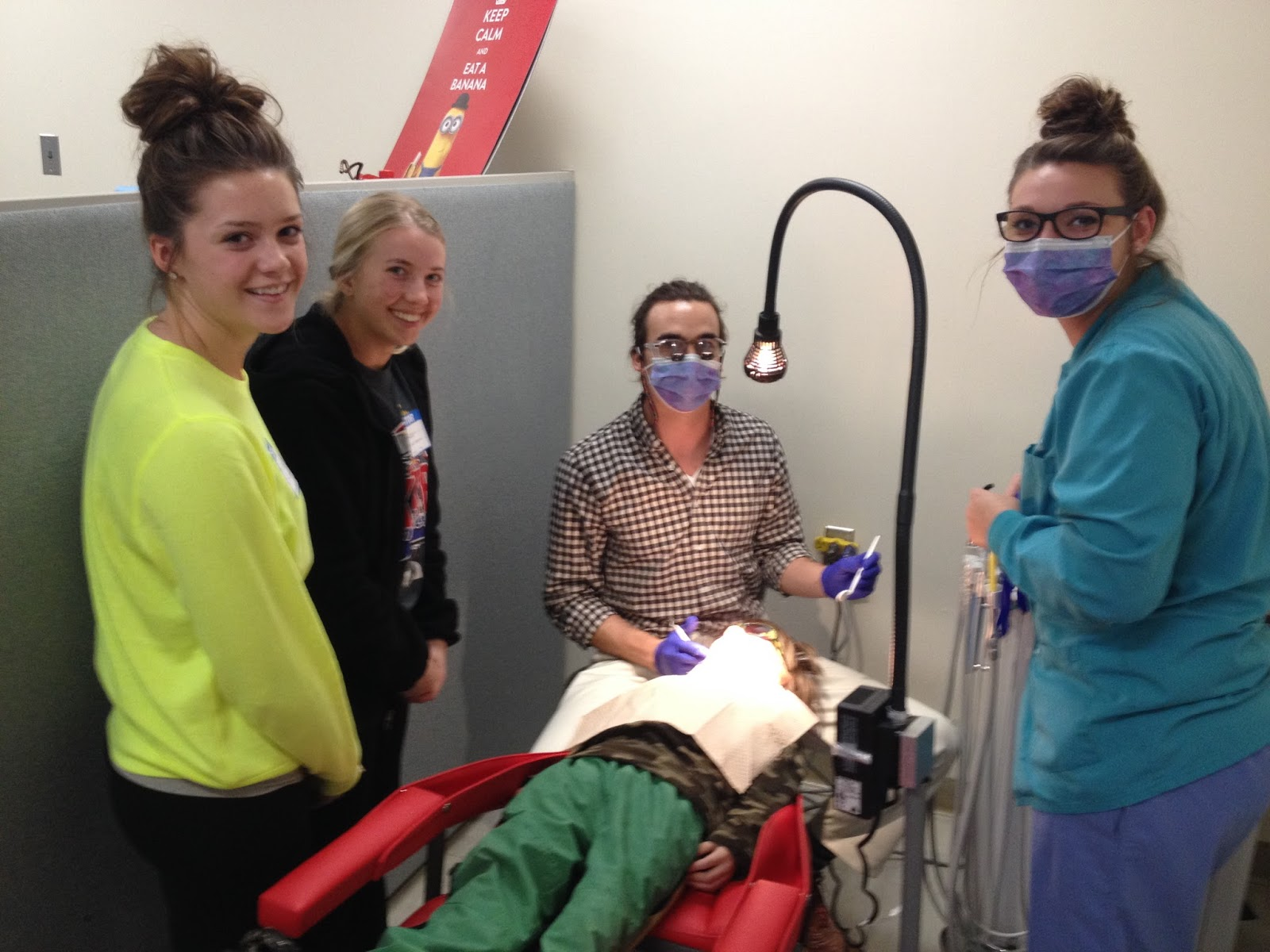 chadron high school chadron public schools toni and kaci job shadowing dental screenings the chadron high school health professions club was invited to participate in a job shadowing experience in