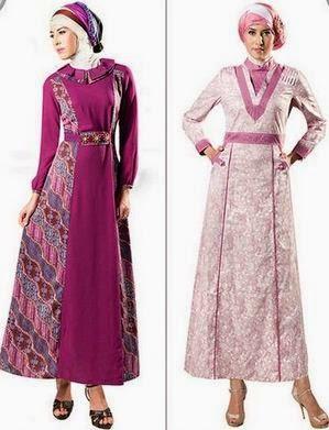 Gambar Foto Model Baju Kerja Muslim Untuk Orang Gemuk