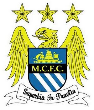 Logo Manchester City Klub Sepak Bola Liga Inggris