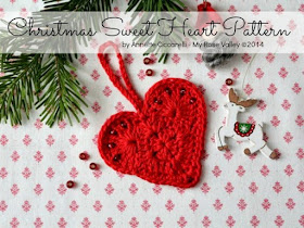 FREE PATTERN :: Christmas Sweet Heart