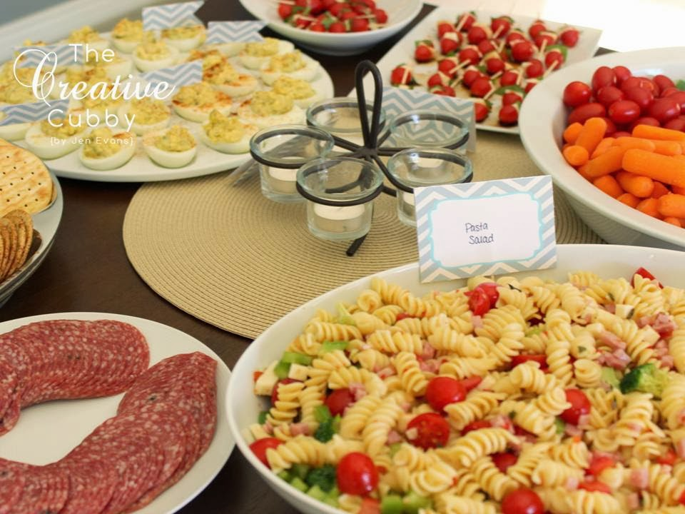 The creative cubby housewarming for Finger food ideas for housewarming party