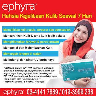 Produk Ephyra benar-benar berkesan