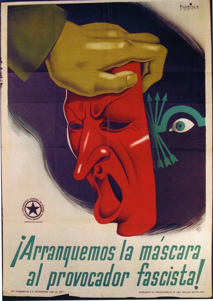 Affiches de la guerre d'espagne